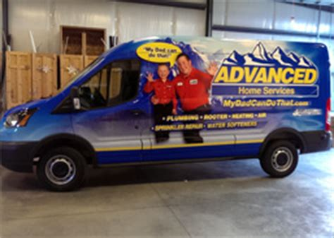 Advanced Plumbing Idaho Falls by Caring For Your Vehicle Wrap And Graphics Turner Sign Co