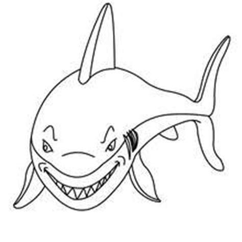 Shortfin Mako Shark Coloring Pages Hellokids Com Mako Shark Coloring Page