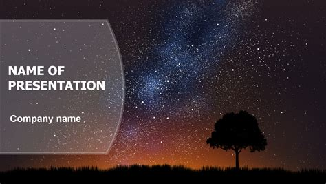 Download Free Cosmic Powerpoint Template For Presentation Presentation Themes