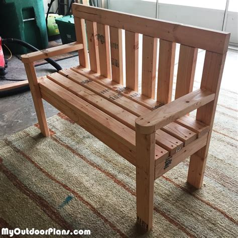 diy garden benches diy 2x4 wood garden bench myoutdoorplans free woodworking plans and projects diy