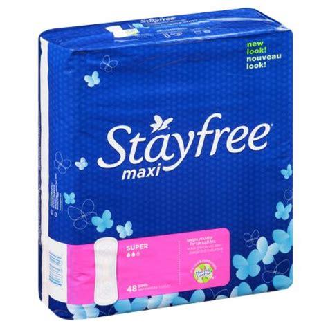 pad free stayfree maxi pads walgreens