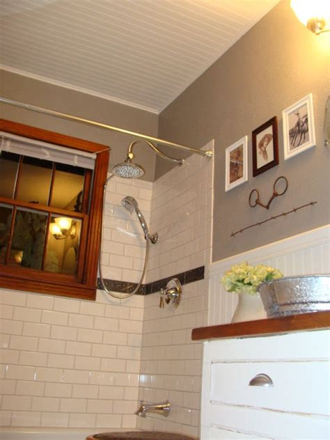 1940s bungalow bathroom farmhousewestern style