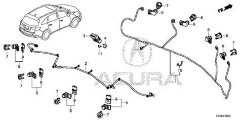 2014 Acura Mdx Parking Sensors by Parking Sensor 1 For 2014 Acura Mdx 5 Door Acura