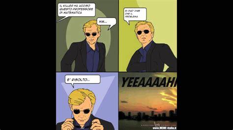 Horatio Meme - csi 4 pane comics know your meme