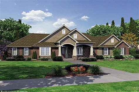 Walkout Basement Design craftsman house plans cambridge associated designs single