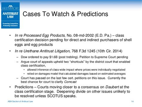 aba antitrust section proskauer antitrust update for in house counsel