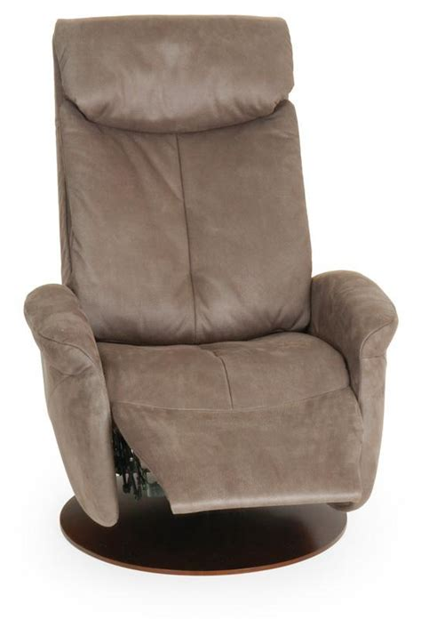 small swivel recliner sitbest raana 3 way manual swivel recliner