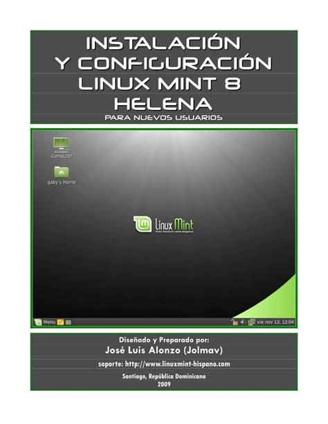 tutorial linux mint pdf pdf de programaci 243 n instalaci 243 n y configuraci 243 in linux