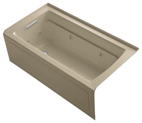 kohler whirlpool bathtubs kohler jetted bathtubs archer 5 ft whirlpool tub in