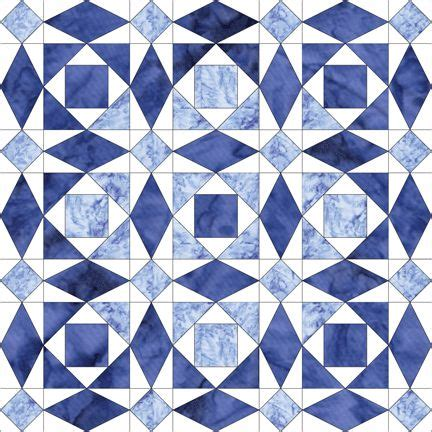 blue pattern blocks 75 best blue and white quilts images on pinterest