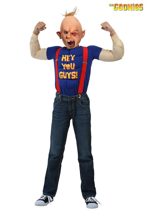 goonies sloth costume for boys