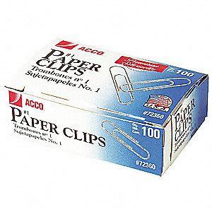 Paper Clip No 1 acco wire paper clip no 1 23k163 acc72360 grainger