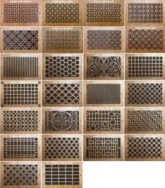 decorative wall vents wood vent cover