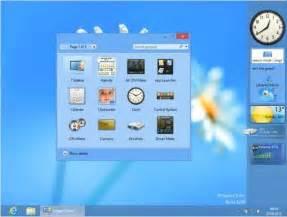 des gadgets de bureau pour windows 8 8gadgetpack