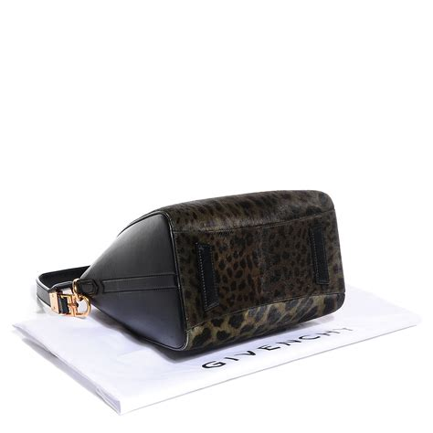 Givenchy Antigona Mini Size Black Smooth givenchy smooth calfskin leopard print calf hair small antigona duffel black 94895