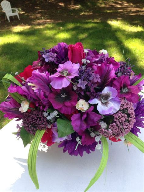 best 25 purple flower arrangements ideas on