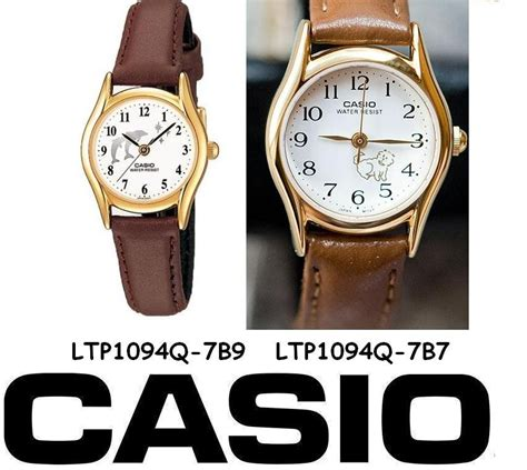 Casio Ltp1094 Original flat price leather band collection 100