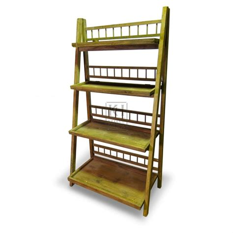 display shelving furniture prop hire 187 folding display shelf keeley hire