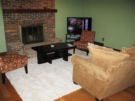 Living Room Furniture Arrangement With Fireplace How To Arrange Furniture Around Fireplace And Corner Tv