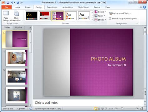themes photo slideshow creator slideshow themes for powerpoint www pixshark com