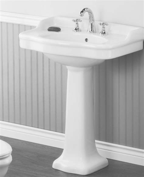 22 inch wide pedestal sink 10 easy pieces traditional pedestal sinks remodelista