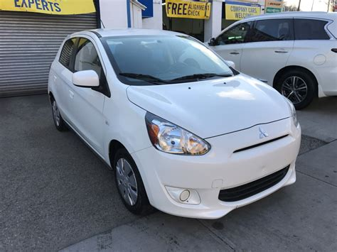 mitsubishi mirage sedan 2015 used 2015 mitsubishi mirage hatchback 6 990 00
