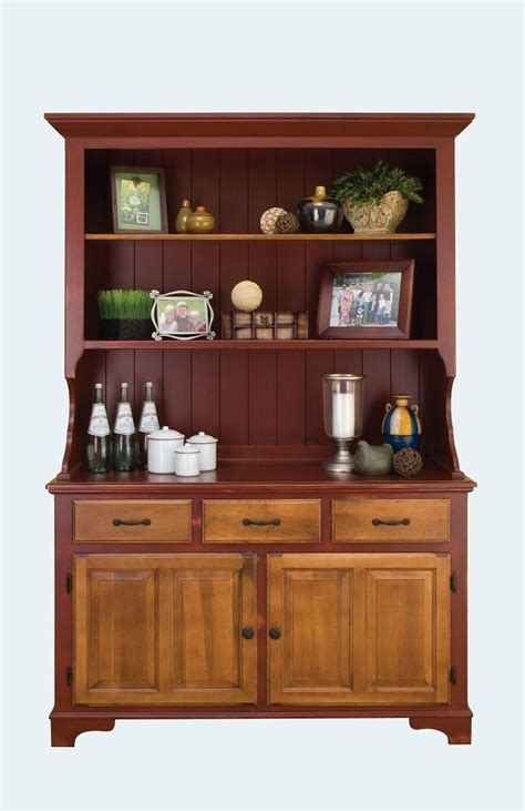 amish farmhouse kitchen hutch dining room country bakers