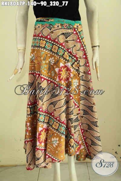 Rok Lilit Songket Keren rok batik modis keren buatan model lilit dan bertali prduk bawahan batik untuk wanita