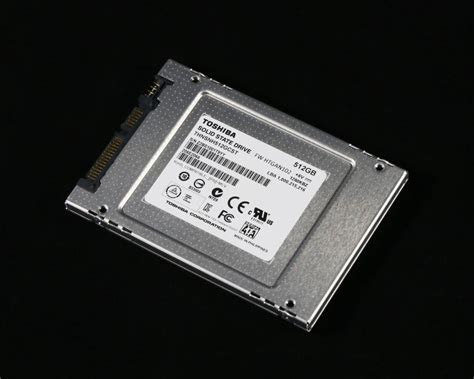 toshiba hg5d series client 2 5 quot ssd review 512gb toshiba cssds make the gold standard