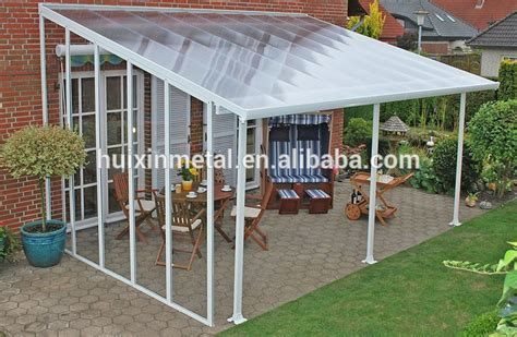 Patio Couvert by Robuste En Aluminium Polycarbonate Patio Couvert Balcon