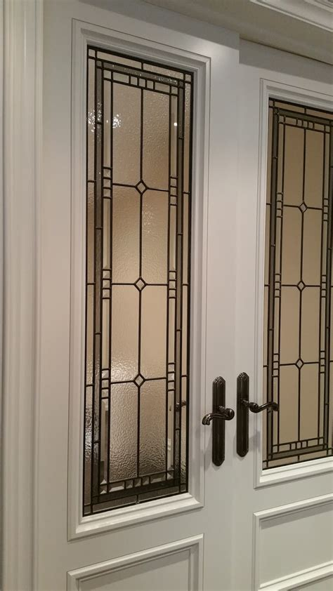 Custom Interior Doors Toronto Glassworks Studio Many Interior Door Inserts For The Custom Build In South Mississauga