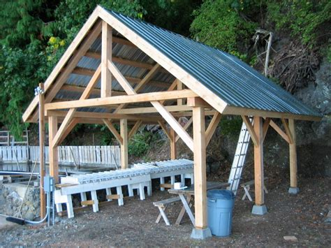 Post And Beam Garage Plans by Home Improvement Post And Beam Garage Plans