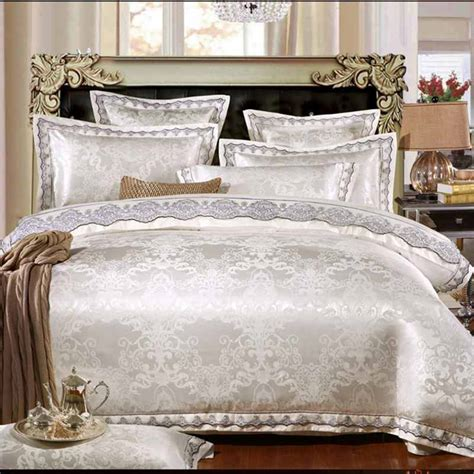 Sprei Bed Cover Home Silk Hs25 get cheap satin linens aliexpress alibaba