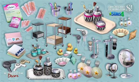 lana cc finds decor for bathroom ikea set 01 by lana cc finds modernism add ons bathroom by