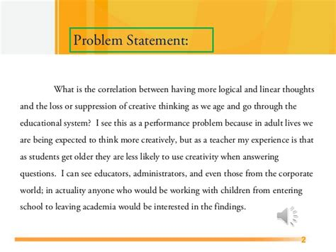 Week 7 Project Mary Ann Jock Walden University Educ 6125 2 Problem Statement Template Powerpoint