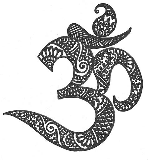om henna tattoo ohm idea favorite things