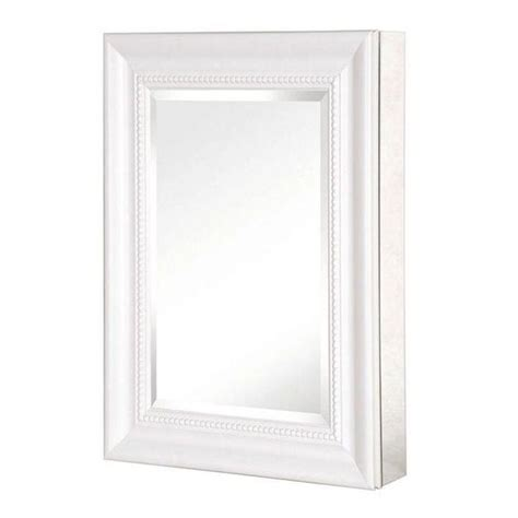 15 inch medicine cabinet pegasus 15 inch x 26 inch recessed or surface mount
