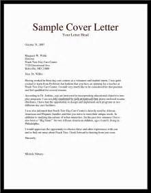 child care cover letter sle daycare resume no experience sales no experience lewesmr
