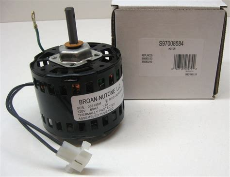 bathroom vent motor 97008584 bathroom fan vent motor for broan nutone