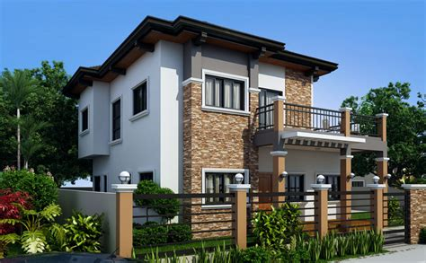 house models and plans marcelino model four bedroom house plan amazing