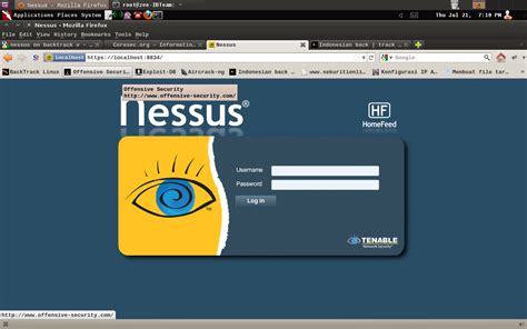 tutorial nessus linux how to install nessus on backtrack 5 r3 backtrack linux