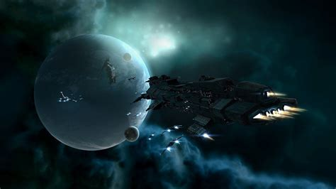 best pc wallpapers 壁紙画像 187 惑星と宇宙船 a planet and spaceship