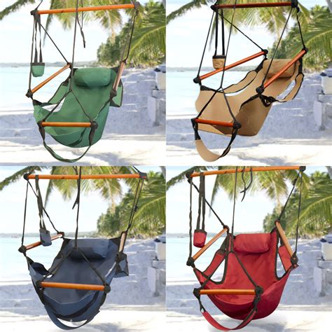 hanging outdoor chair hammock hanging chair air deluxe sky swing outdoor chair