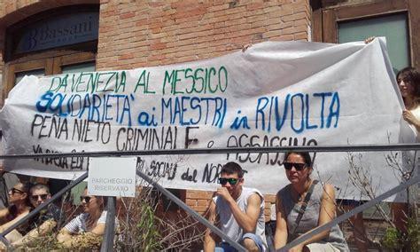 consolato messicano in italia venezia iniziativa al consolato messicano contro le
