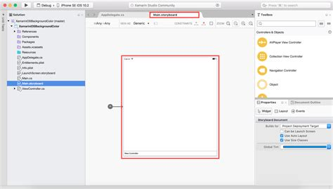 xamarin dynamic layout delpin xamarin blog how to change background colors