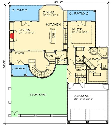 mediterranean house floor plan and design plan w36804jg two story mediterranean home plan e