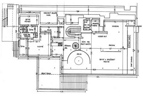 Villa Tugendhat Floor Plan | villa tugendhat mediterranean floor plan other metro