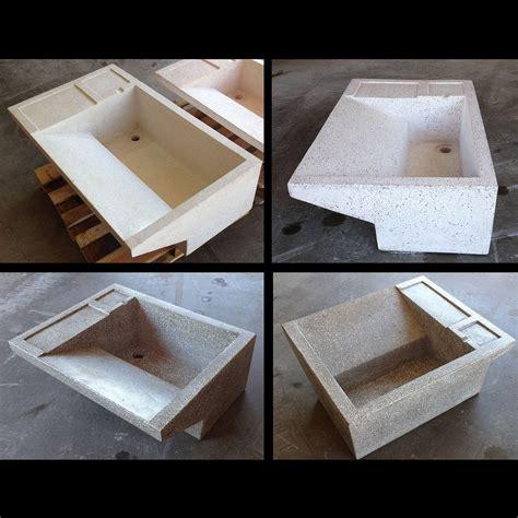vasca in cemento vasca lavapanni cm 60 in cemento e graniglia di marmo