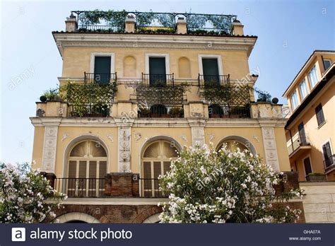 buy house rome view of one of the traditional italian houses in rome stock photo royalty free image