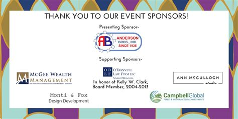 Thank You To Our Advertisers 2 by 2015 Lifting Spirits Benefit Dinner And Auction William